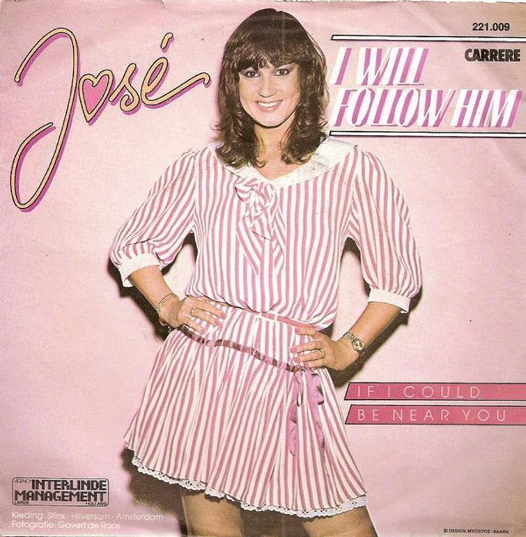Jose - I Will Follow Him (Jose Hoebee) (Vinyl Single 45 Toeren) 7 Juni 1982. -  45 Toeren Plaat