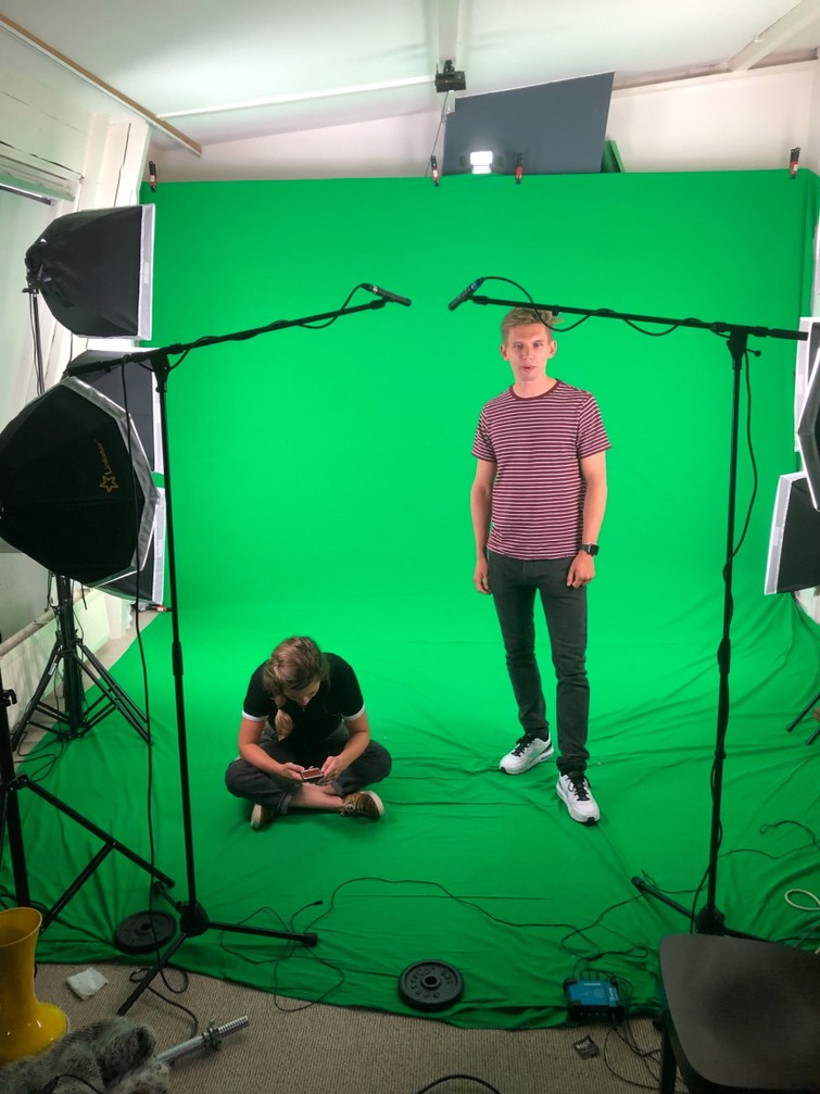 Green screen (  verlichting)
