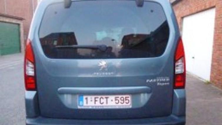 Te huur: Peugeot Partner