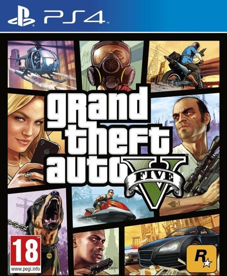 PS4 - Grand Theft Auto 5 (GTA V)