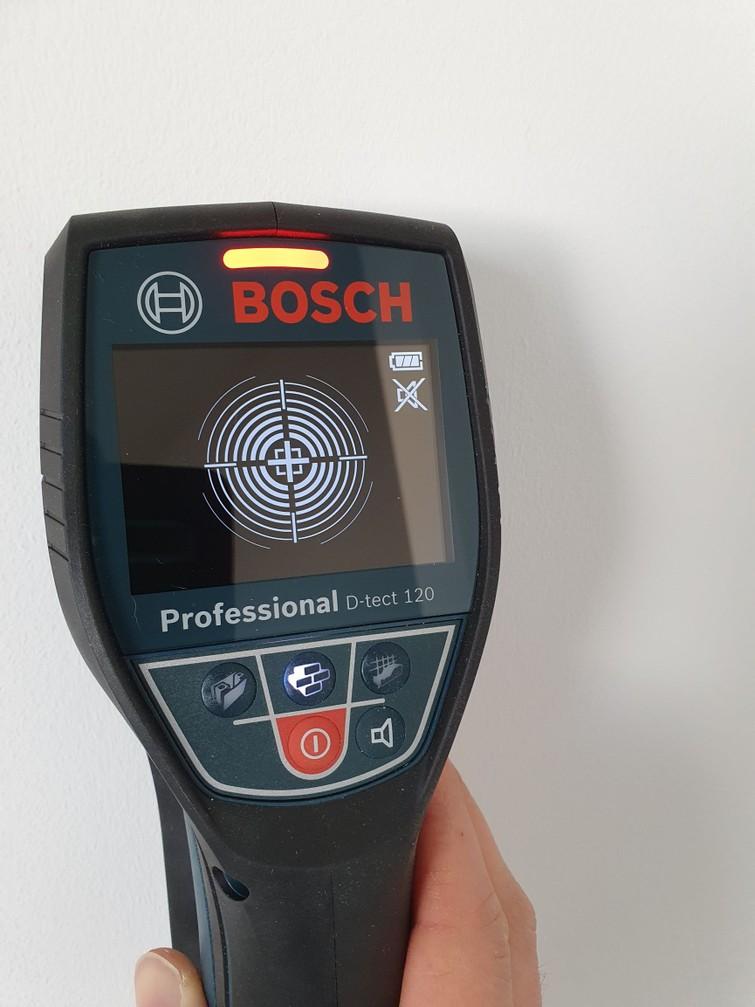 Professionele leidingzoeker (multi-detector) Bosch D-tect 120