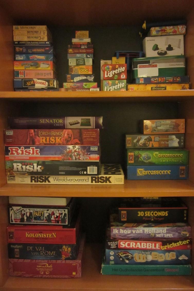 Veel verschillende spellen