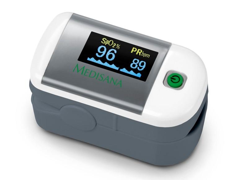 Zuurstof saturatiemeter spO2 vinger voor medische doeleinden
