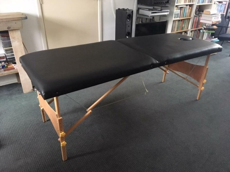 Opklapbare massage tafel