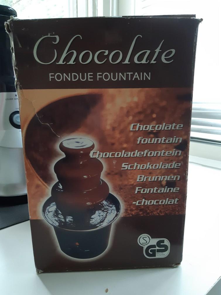 Chocoladefonteintje