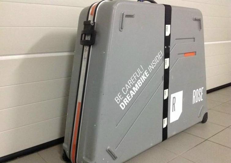 Fietskoffer voor racefiets. Veilig vervoer voor je  racefiets.  Nu te