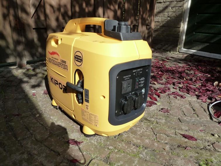 Te Huur: Kipor IG2600 Aggregaat 2600 watt