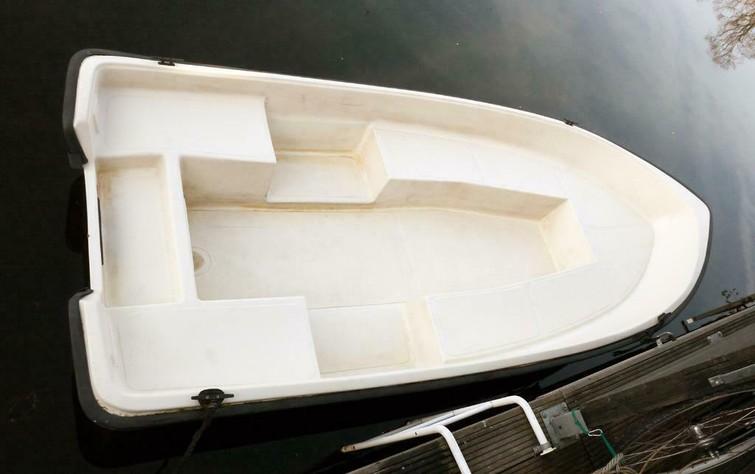 Polyester Boot met 5pk motor
