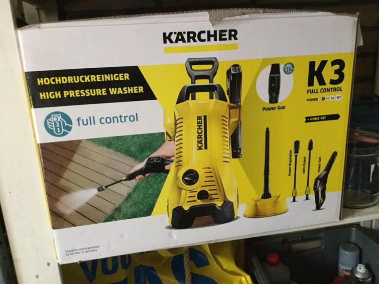 hogedrukreiniger Kärcher k3