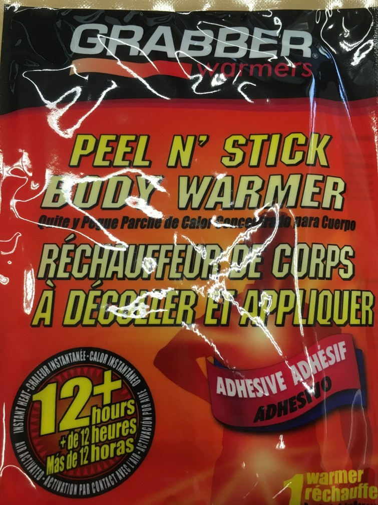 Grabber Body Warmtepads