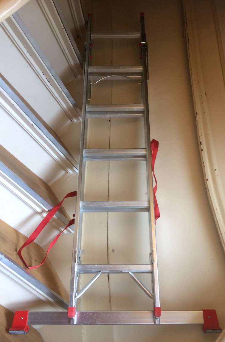 Ladder - vouwen, geheel en op trap