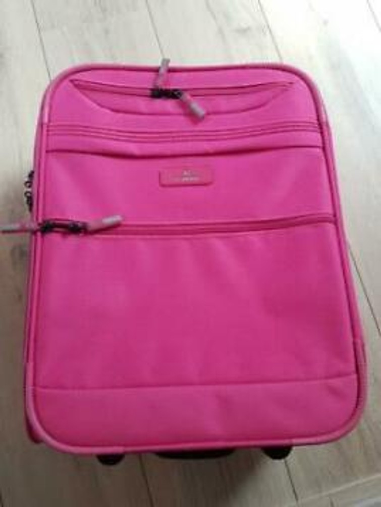 koffer handbagage twee wielen