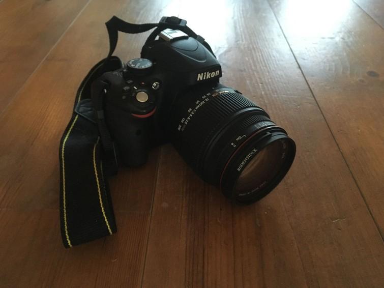 Nikon D5100 met 2 lenzen