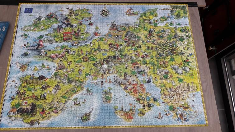 Puzzel 4000 stukjes