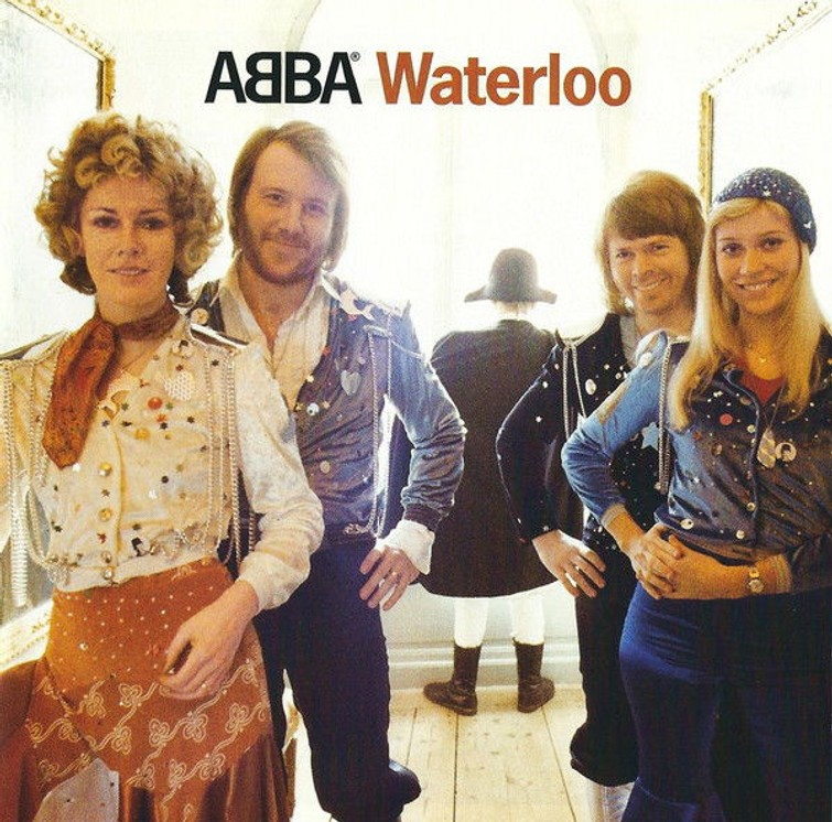 ABBA - WATERLOO (Album CD) 4 Maart 1974. - CD