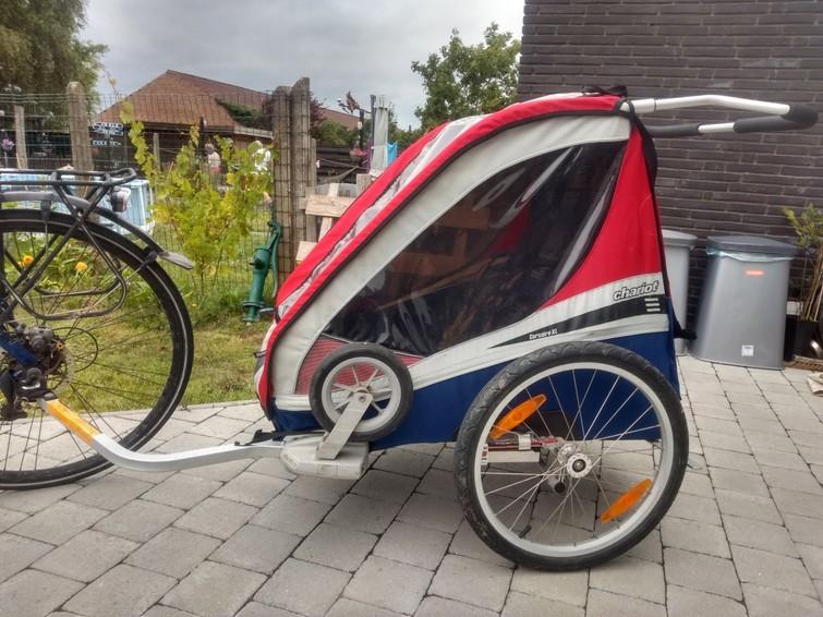 Fietskar Chariot-Thule (2 kinderen)