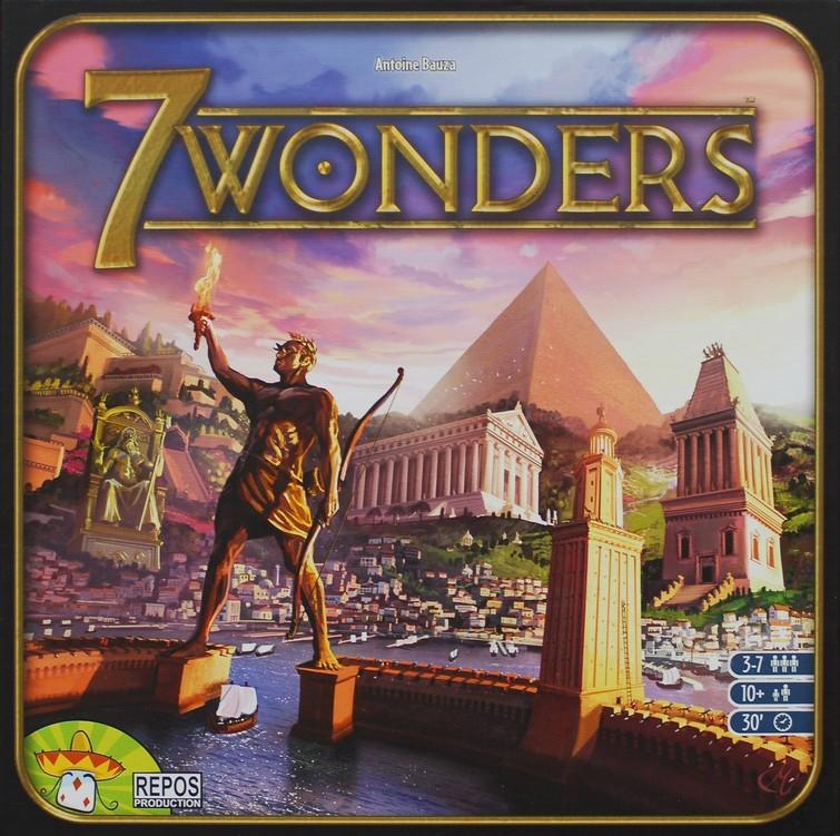 7 Wonders Bordspel