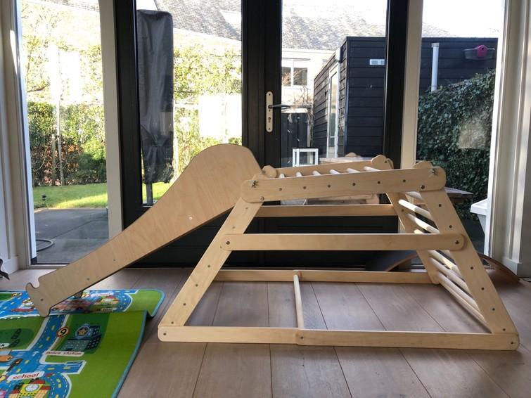 Kinderklimrek/Montessori Pikler (vanaf 6 maanden oud)