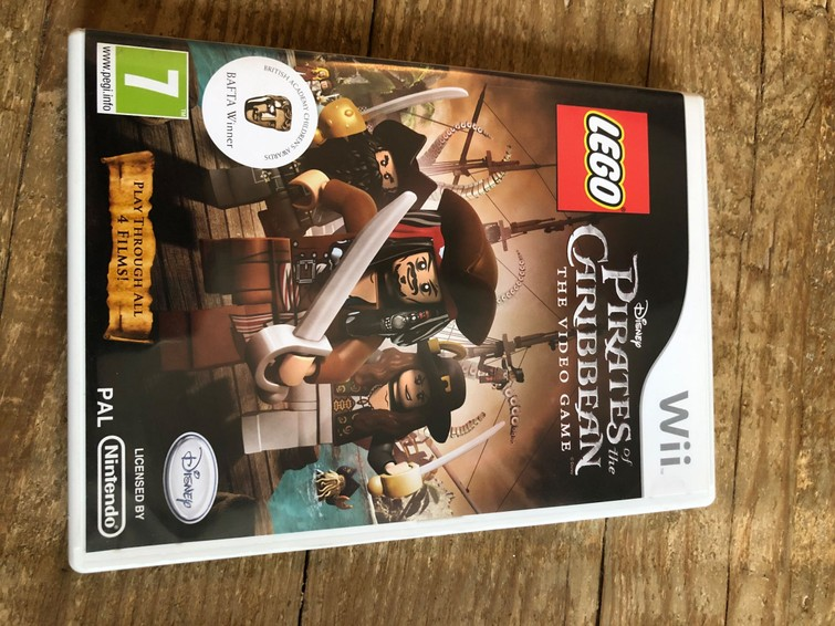 Nintendo Wii Pirates of the Caribbean The Video Game