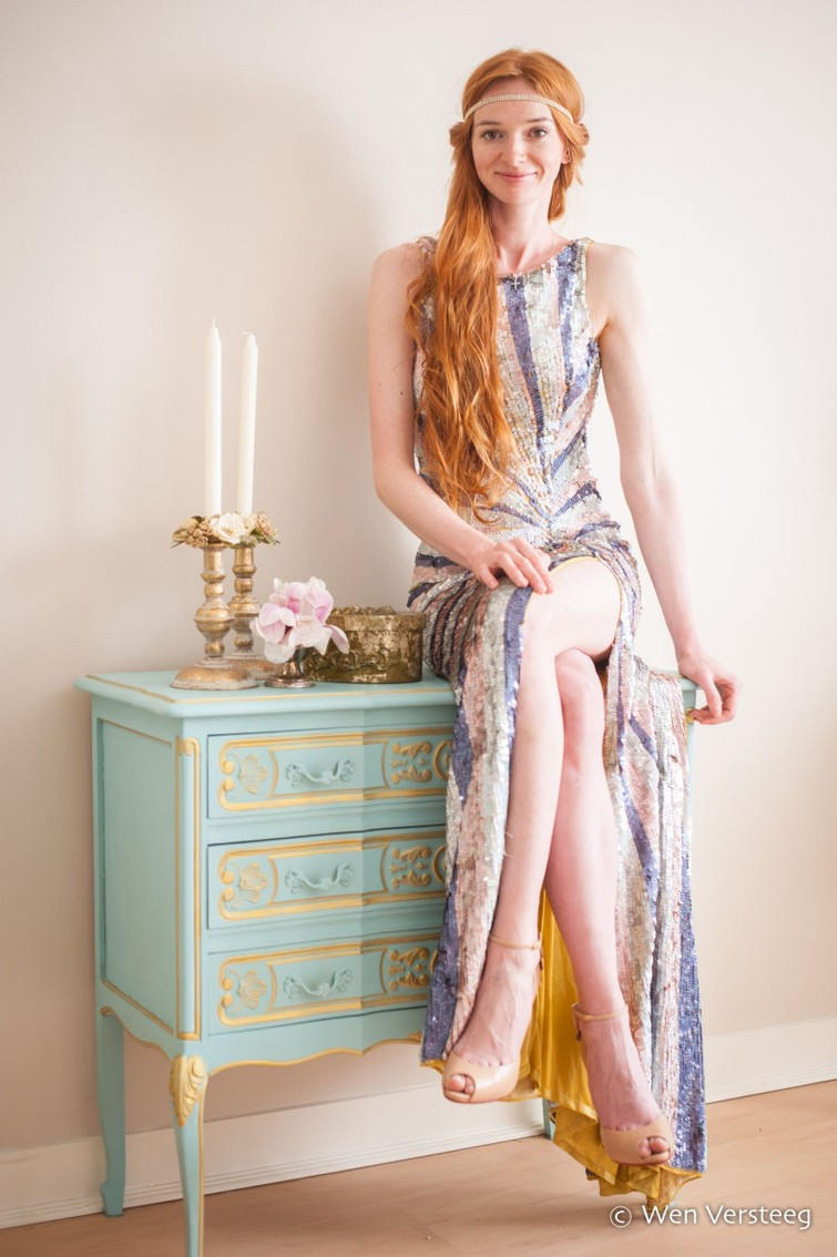 Evening party dress, Great Gatsby style