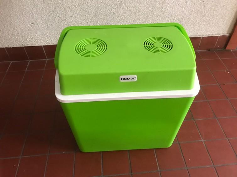 Koelbox met autostekker