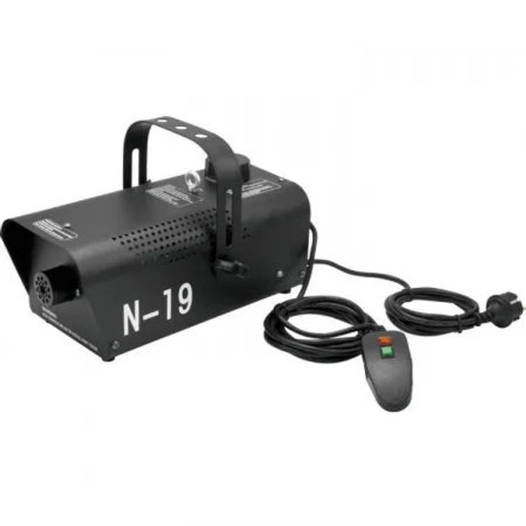Eurolite N-19 700 Watt rookmachine, zwart