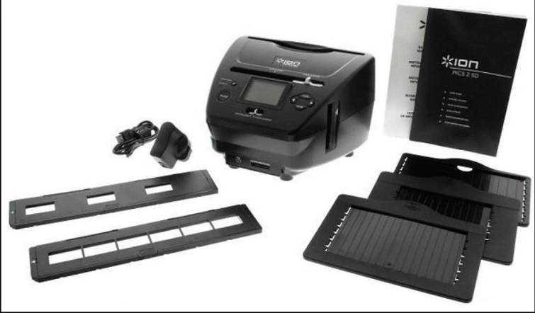 Dia-fotoscanner
