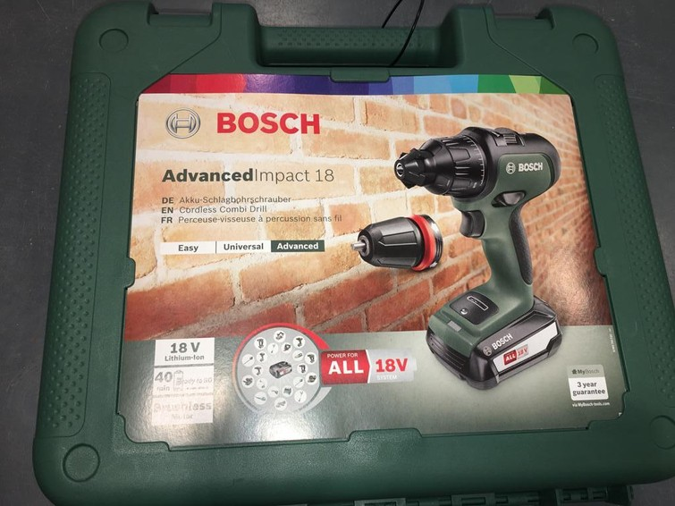 Bosch Klopboor Accuschroefboor Machine AdvancedImpact 18