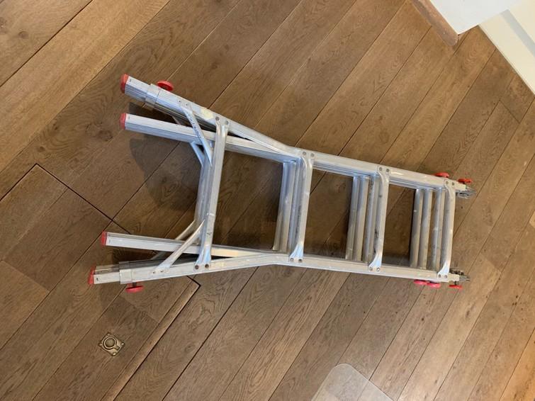 telescopische ladder 4,55 m