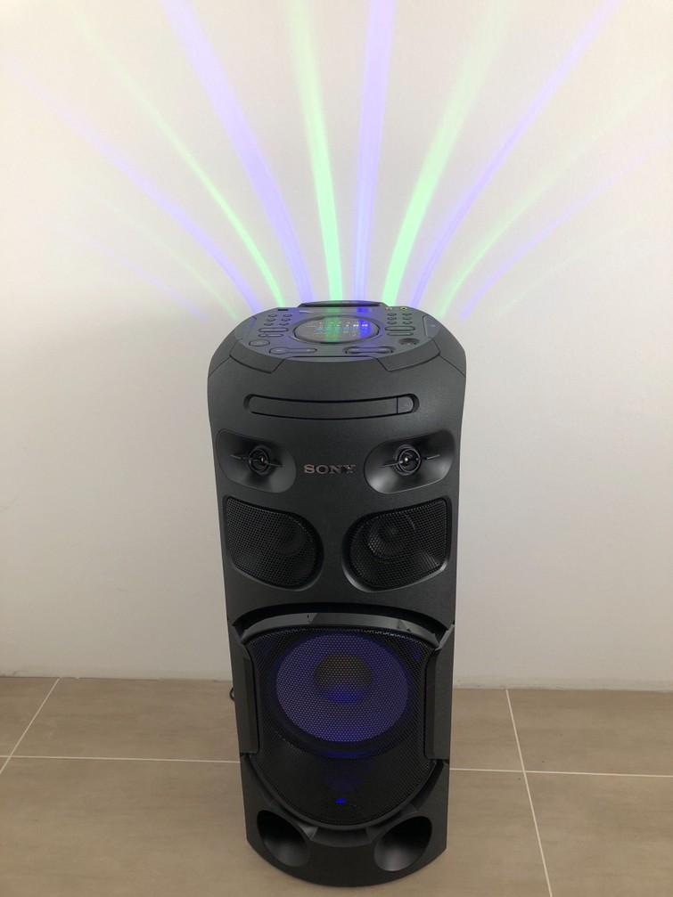 Sony high power speaker met Bluetooth, usb, cd en dvd speler