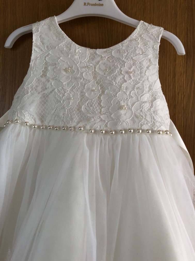 Bloemenmeisjes jurk maat 92