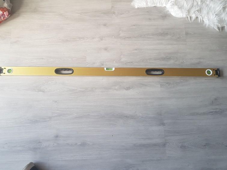 Waterpas 1.5 meter lang met magneet