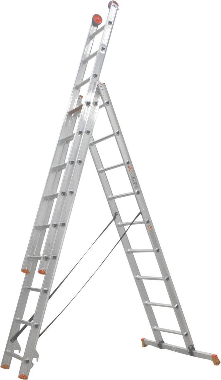 Altrex All Round 3-delige reformladder AR 3060 3 x 9