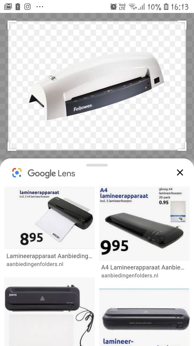 Lamineermachine
