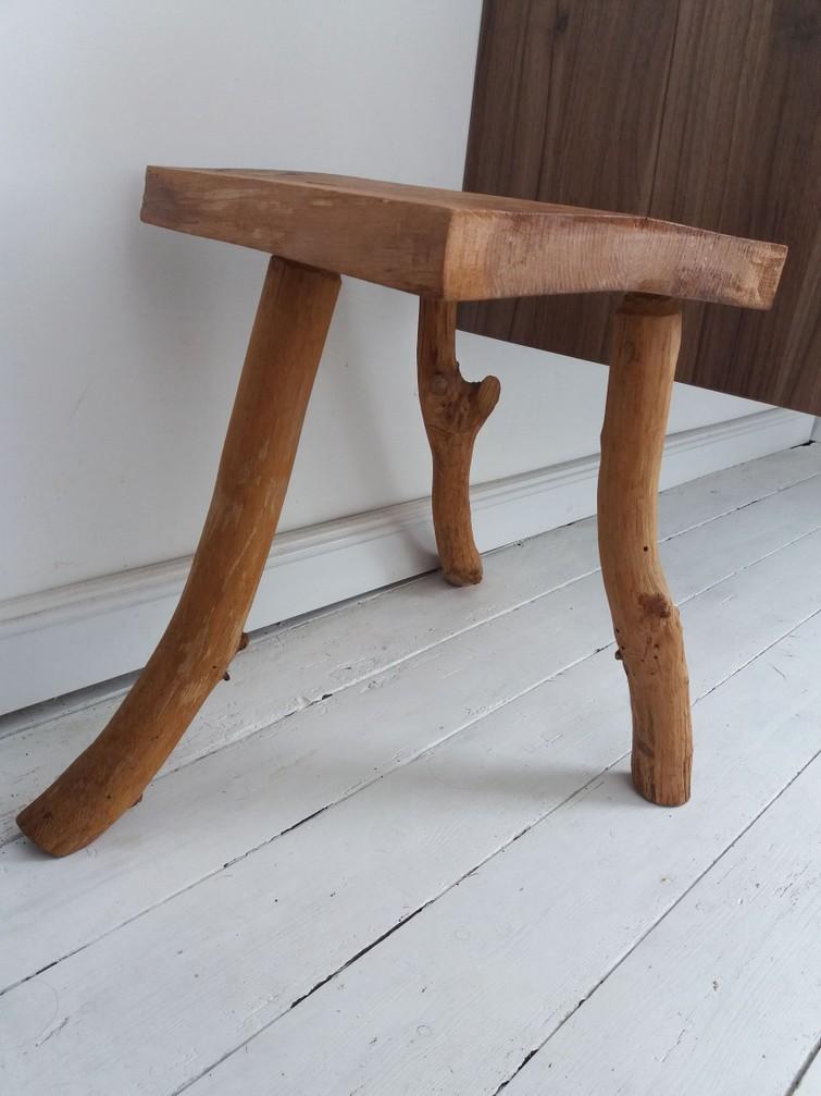 decoratief houten stoeltje