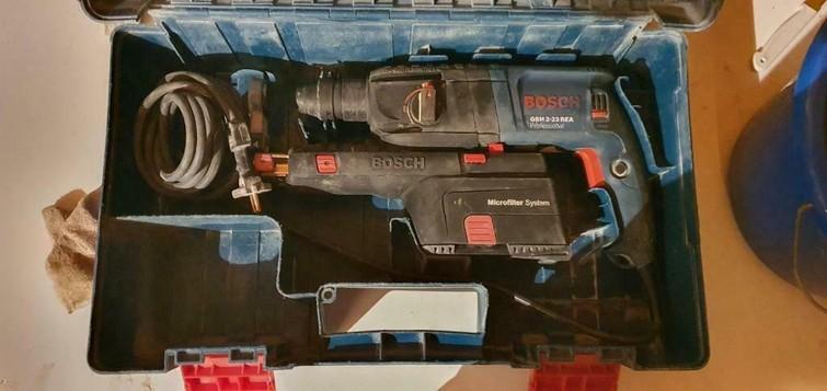 Bosch GBH 2-23 REA SDS-Plus Boorhamer met afzuiging - 710W
