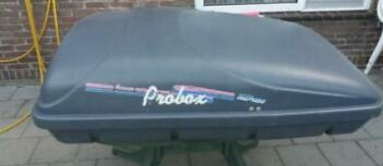 Dakkoffer Probox, kort maar breed