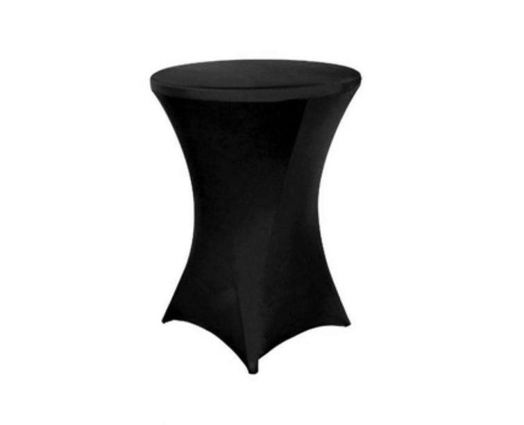 Statafel (evt met zwarte rok)
