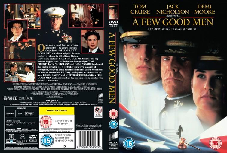 A Few Good Men (Tom Cruise & Demi Moore) 1992.   -  DVD