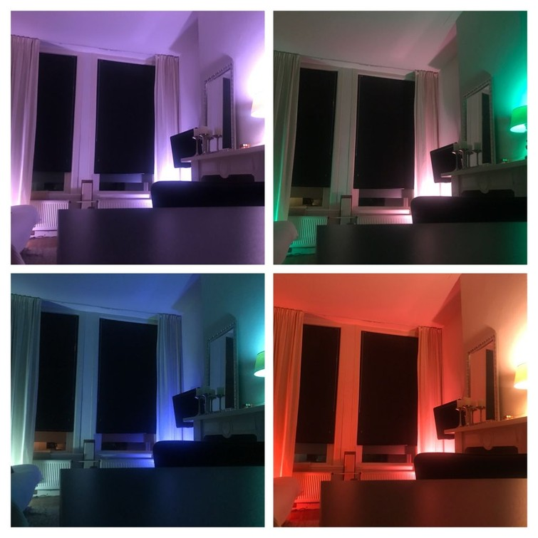 Philips hue color lightning