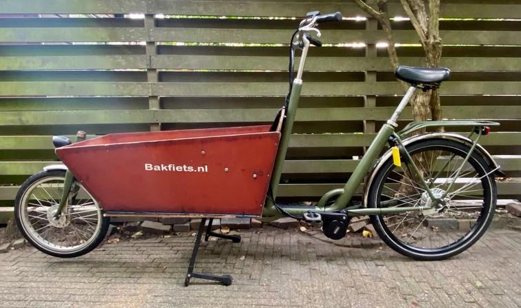Elektrische AZOR Bakfiets NL Cargo Classic Long