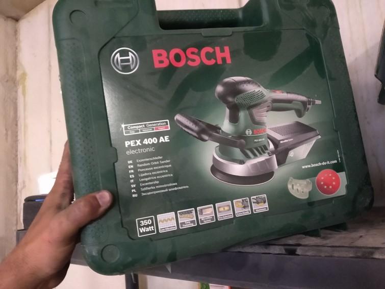 Excentrische schuurmachine Bosch expert