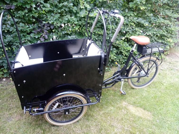Elektrische bakfiets driewieler