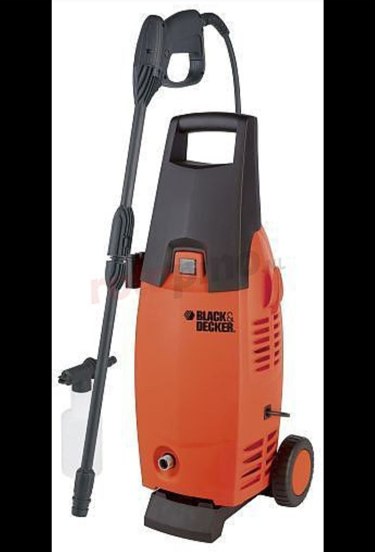 hogedrukreiniger black and decker 1400k plus