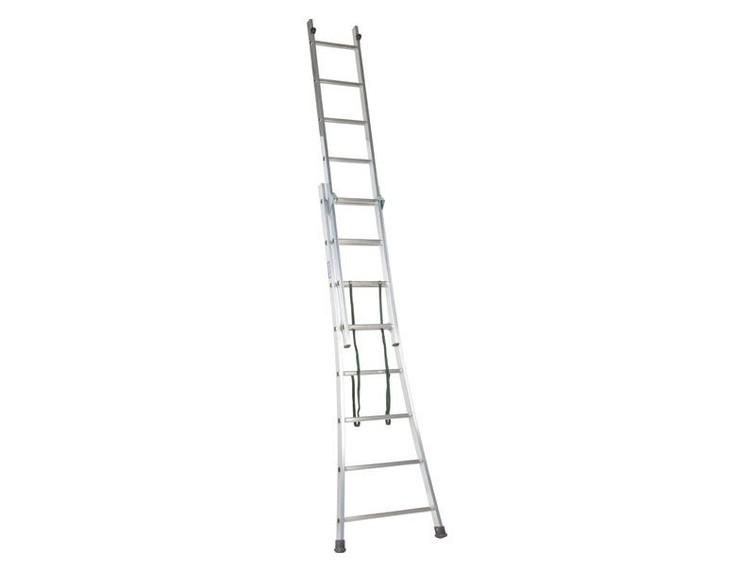 uitschuifbare ladder 3x9 treden