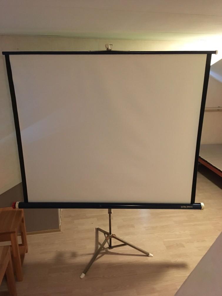 projectiescherm 150x150 cm