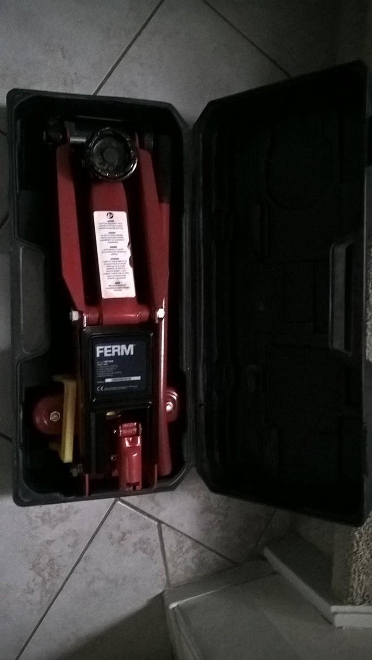 autokrik in koffer