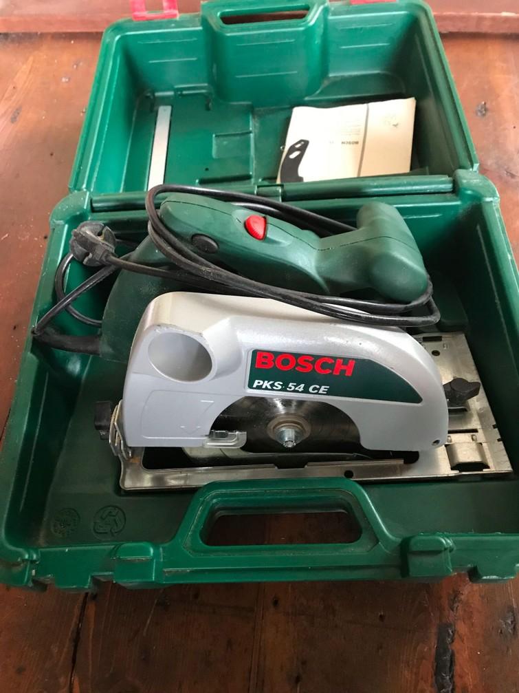 Handcirkelzaag Bosch