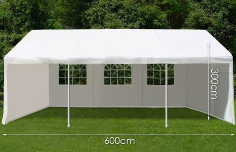 party tent dikke frame 3x6