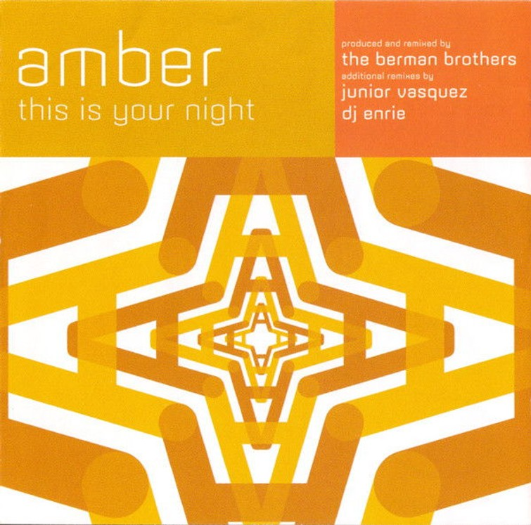 Amber – This Is Your Night (CD Single) 1996.